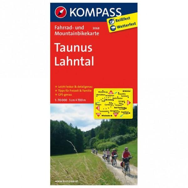 Kompass - Taunus - Pyöräilykartat