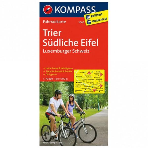 Kompass - Trier - Cartes de randonnée à vélo