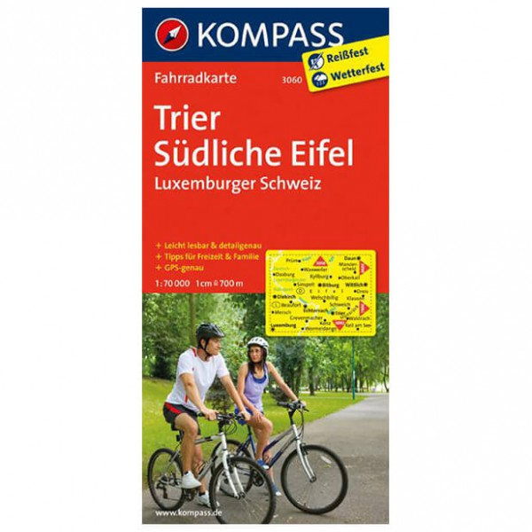 Kompass - Trier - Radkarte