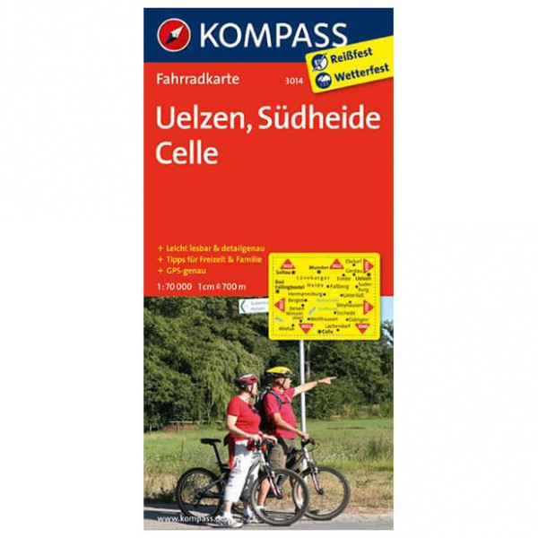 Uelzen - Cycling map