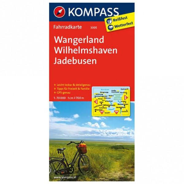 Kompass - Wangerland - Cykelkort