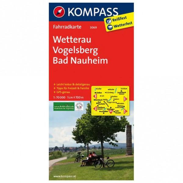 Kompass - Wetterau - Cartes de randonnée à vélo