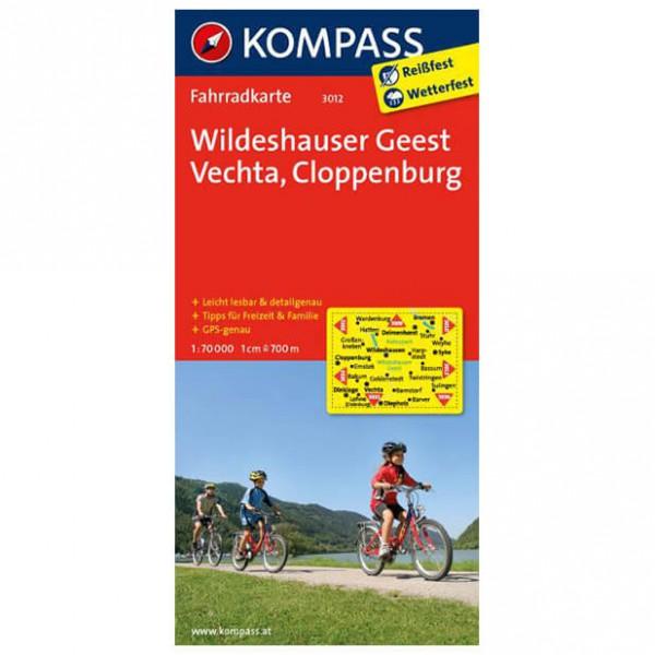 Kompass - Wildeshauser Geest - Cartes de randonnée à vélo