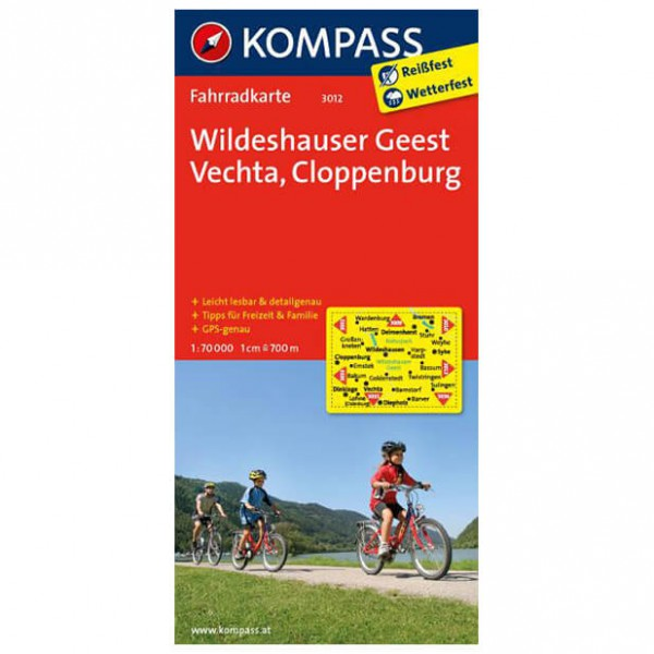 Kompass - Wildeshauser Geest - Pyöräilykartat