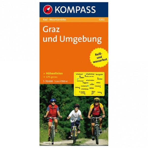 Kompass - Graz und Umgebung - Fietskaart