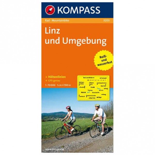 Kompass - Linz und Umgebung - Pyöräilykartat