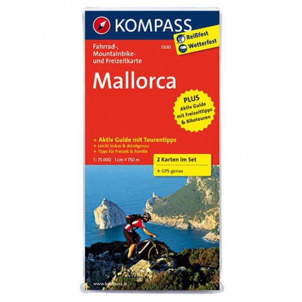 Kompass - Mallorca - Pyöräilykartat