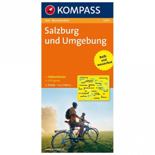 Kompass - Salzburg und Umgebung - Radkarte