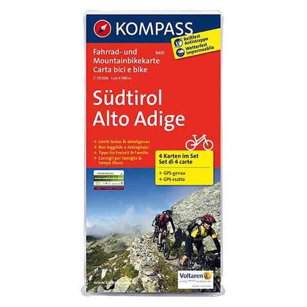 Kompass - Südtirol - Radkarte