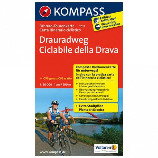 Kompass - Drauradweg - Cartes de randonnée à vélo