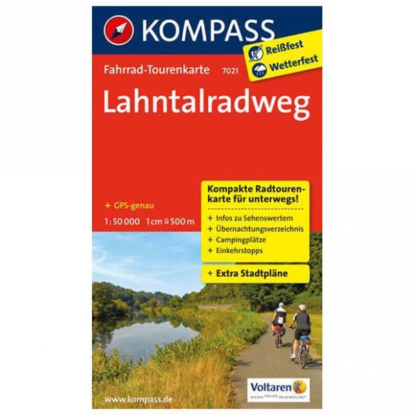 Kompass - Lahntalradweg - Cykelkort