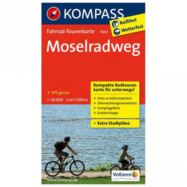 Kompass - Moselradweg - Cycling maps