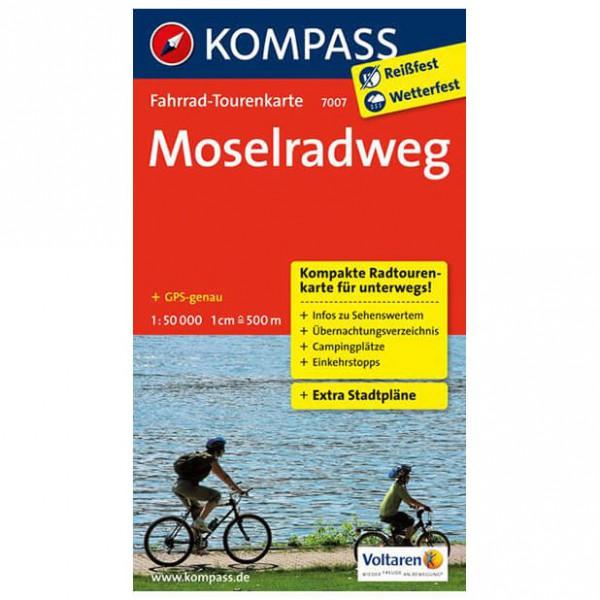 Kompass - Moselradweg - Cykelkort