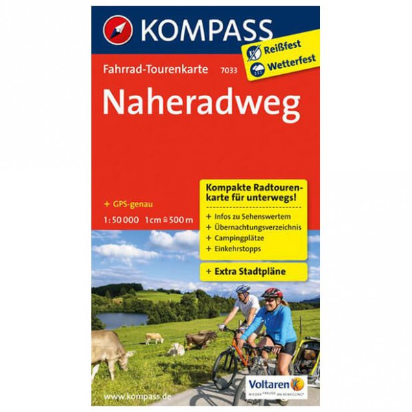 Kompass - Naheradweg - Cycling maps