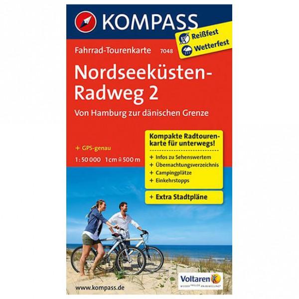 Kompass - Nordseeküstenradweg 2, Hamburg - dänische Grenze