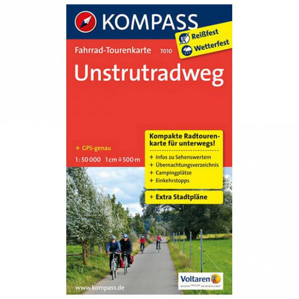 Kompass - Unstrutradweg - Cartes de randonnée à vélo