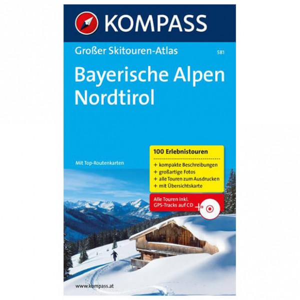 Kompass - Bayerische Alpen - Guides de randonnée à ski
