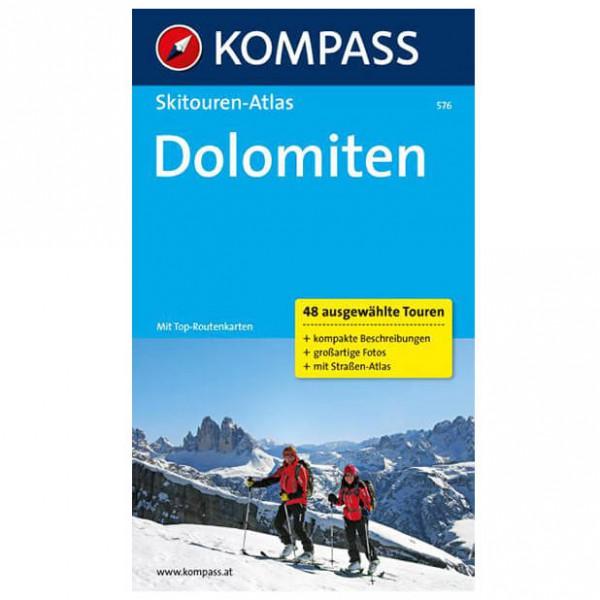 Kompass - Dolomiten - Hiihtoretkioppaat
