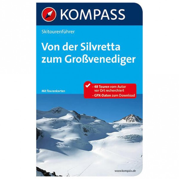 Kompass - Von der Silvretta zum Großvenediger - Ski tour guide