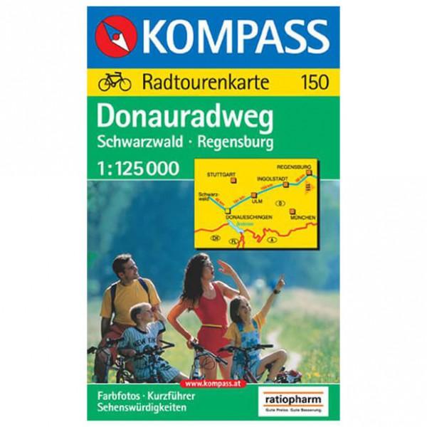 Kompass - Donauradweg Schwarzwald - Pyöräilyoppaat