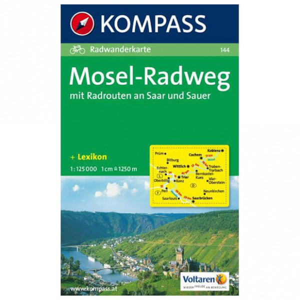Kompass - Mosel-Radweg - Guides cyclistes