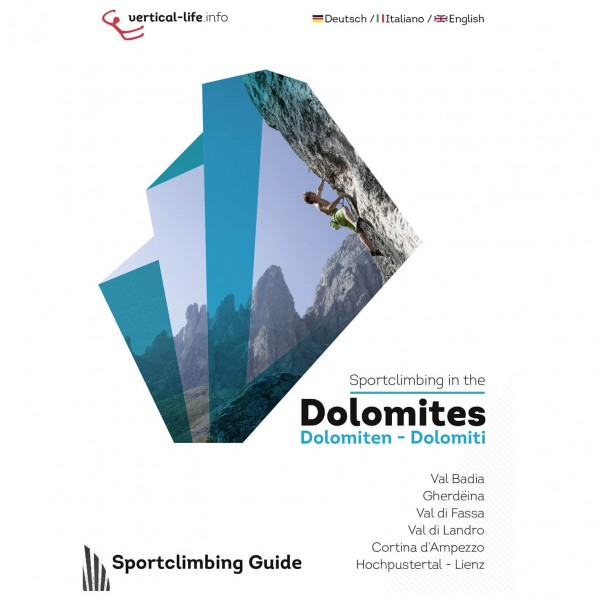 Vertical Life - Sportclimbing in the Dolomites - Climbing guide
