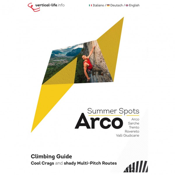 Vertical Life - Arco Summer Spots - Guides d'escalade