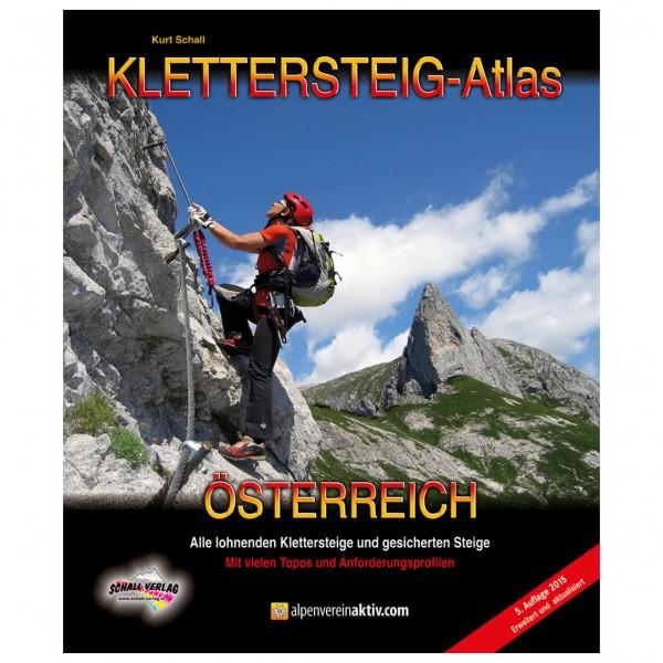 Schall-Verlag - Klettersteig-Atlas Österreich - Via Ferrata förare