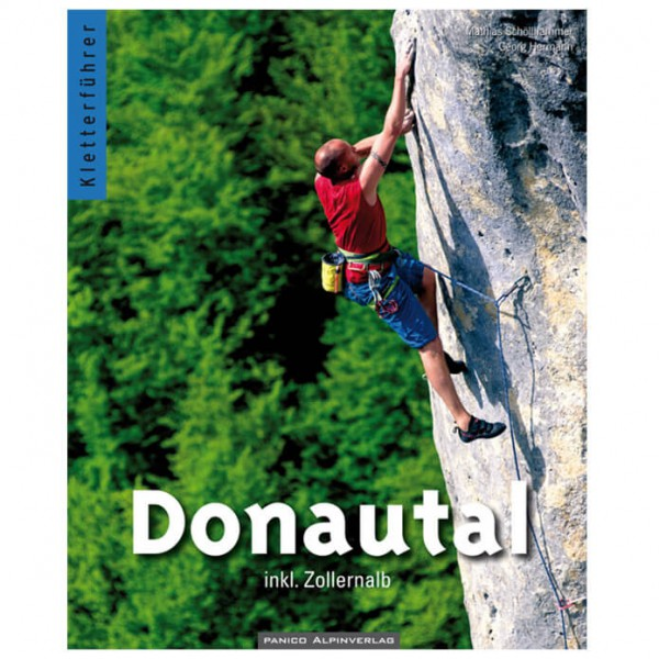 Panico Verlag - Donautal inkl. Zollernalb - Kiipeilyoppaat
