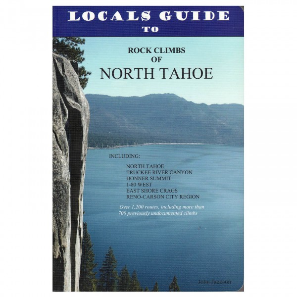 John Jackson - Rock Climbs of Lake Tahoe - Kiipeilyoppaat