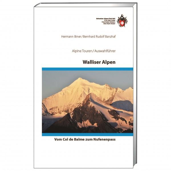 SAC-Verlag - Walliser Alpen - Alpine guide books