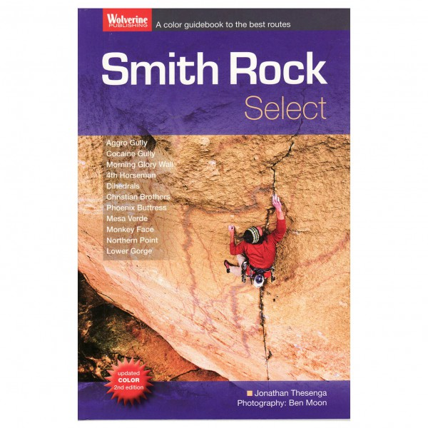 Jonathon Thesenga - Smith Rock Select - Climbing guides