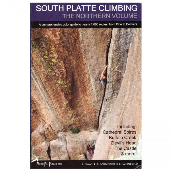 Fixed Pin Publishing - South Platte Climbing - Klimgidsen
