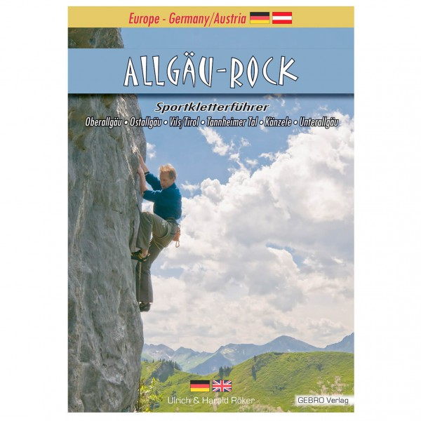 Gebro Verlag - Allgäu-Rock - Guides d'escalade Allemagne
