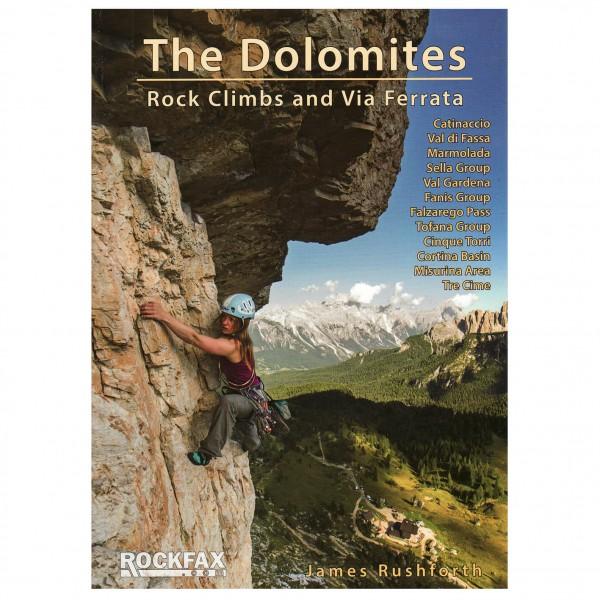 James Rushforth - The Dolomites - Kletterführer