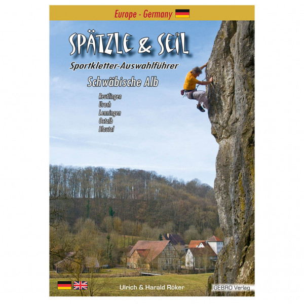 Gebro-Verlag - Spätzle & Seil - Klatreguide