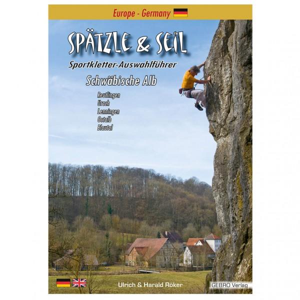 Gebro Verlag - Spätzle & Seil - Guides d'escalade Allemagne