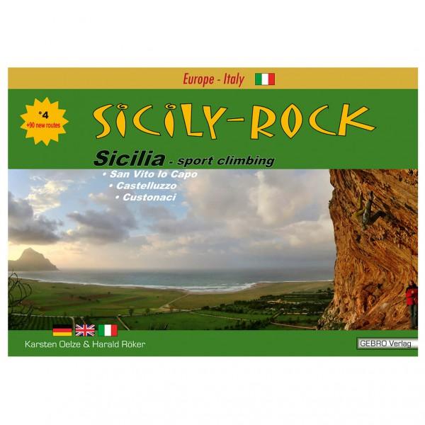 Gebro Verlag - Sicily-Rock - Kiipeilyopas, Italia