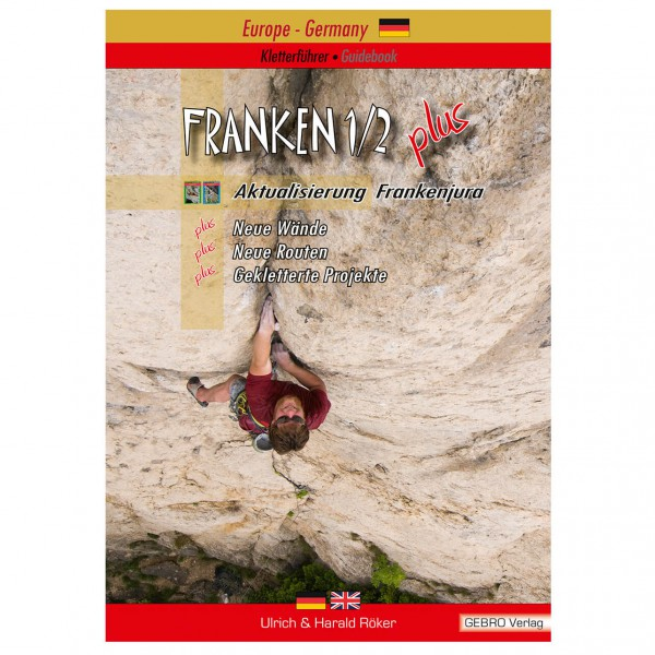 Gebro-Verlag - Franken 1/2 Plus - Climbing guide