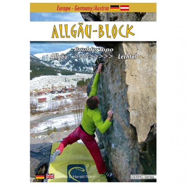 Gebro-Verlag - Allgäu-Block - Boulderführer