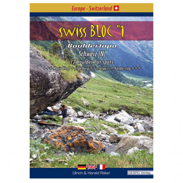Gebro-Verlag - SwissBloc No.1 - Boulderingförare