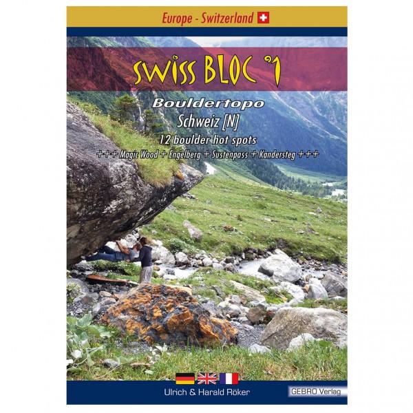 Gebro-Verlag - SwissBloc No.1 - Bouldering guides