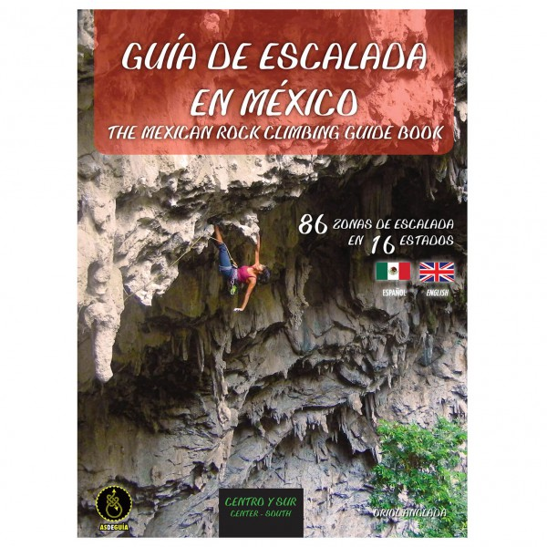 Gebro-Verlag - The Mexican Climbing Guidebook - Centro/Sur