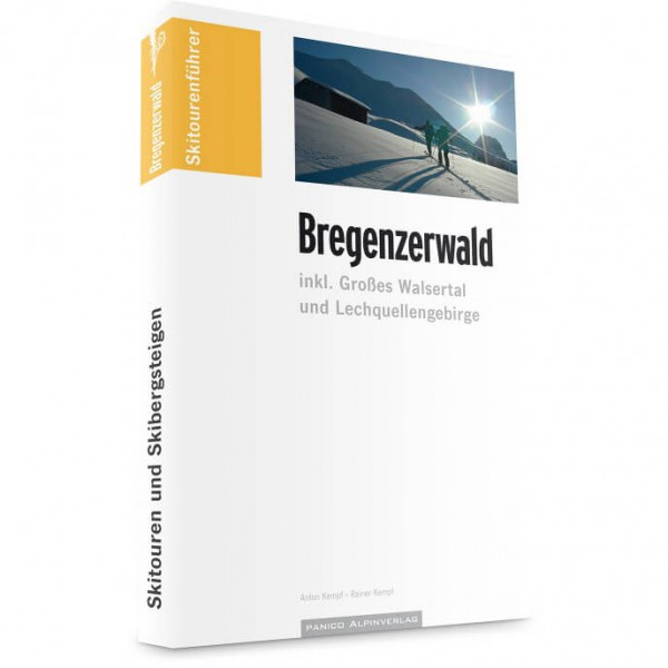 Panico Alpinverlag - Bregenzerwald - Ski tour guide