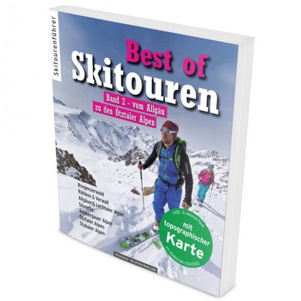 Panico Alpinverlag - Best of Skitouren Band 2 - Skitourenführer