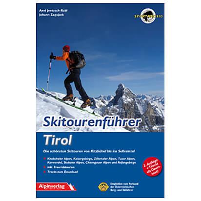 Alpinverlag - Skitourenführer Tirol - Ski- og snøskoturer