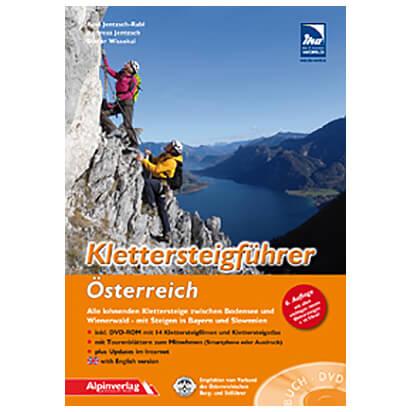 Alpinverlag - Klettersteigführer Österrreich - Klettersteiggidsen