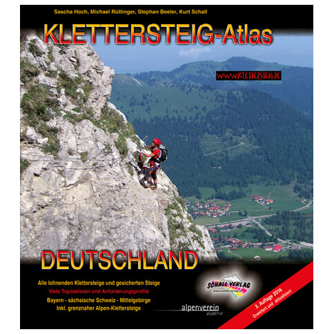 Schall-Verlag - Klettersteig-Atlas Deutschland - Via Ferrata guide