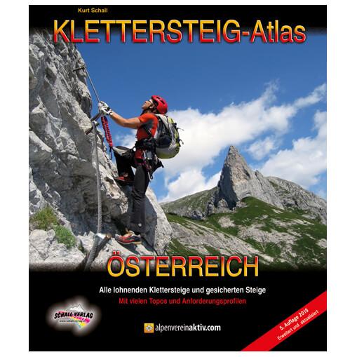 Schall-Verlag - Klettersteig-Atlas Österreich - Klettersteigführer