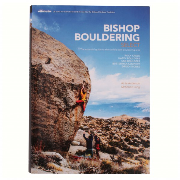 Cordee - Bishop Bouldering Select - Climbing guides